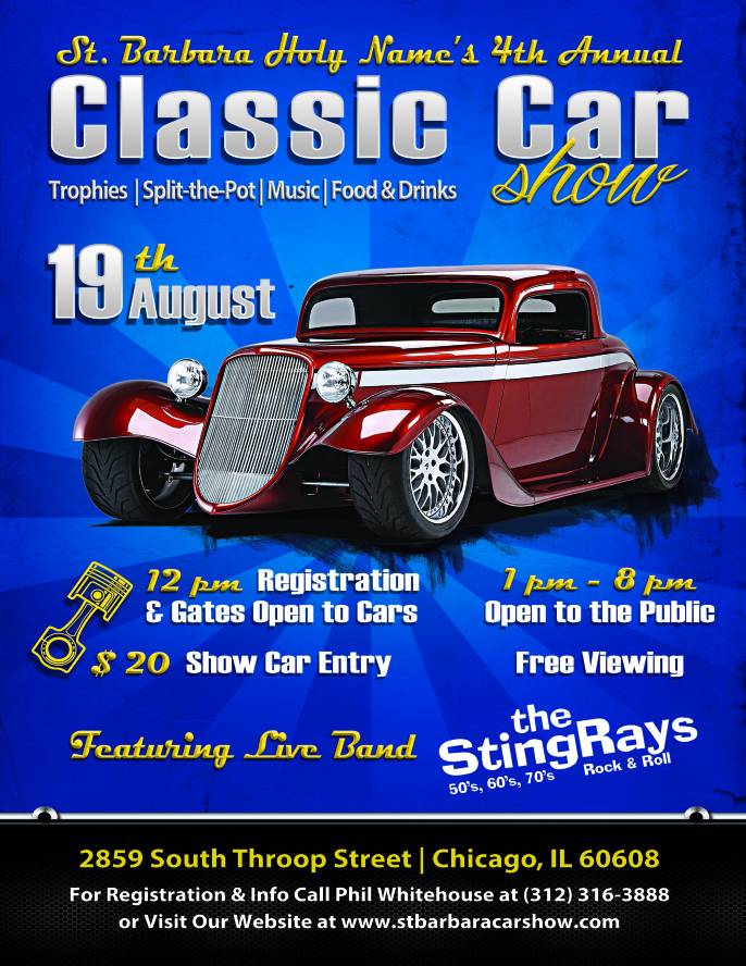 4th Annual Classic Car Show Coming Soon!